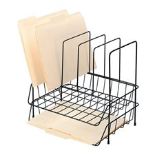 2-High Wire Tray with sorter