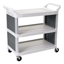 4092 Utility Cart with Enclosed Panels on 2 Sides