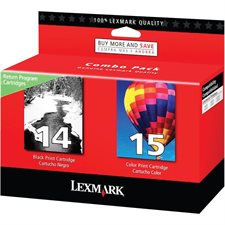 14 / 15 Ink Jet Cartridge Twin-Pack