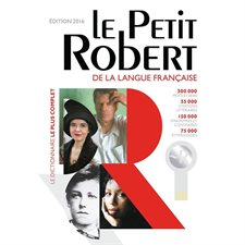 Le Petit Robert 2016 Dictionary