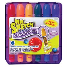 Mr. Sketch Scented™ Twistable Gel Crayons