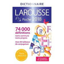 2018 Larousse Pocket Dictionary