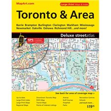 Toronto and Areas Street Maps