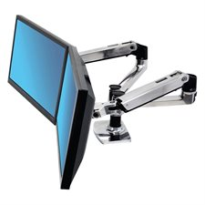 LX Dual Side-by-Side Monitor Arm