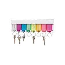 RACK KEY MULTI-COLORED 8 KEYS