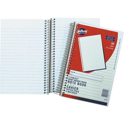 5-subject notebook